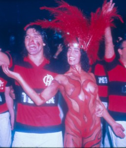 Enoli Lara e Renato Gaucho