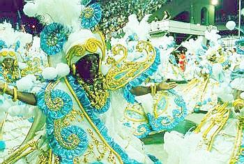 Beija-flor 1999 - baianas