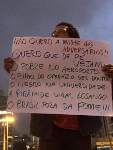 protestos a favor