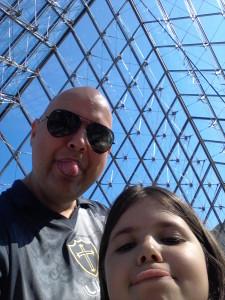 Emerson Braz e filha