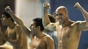 revezamento 200m natação