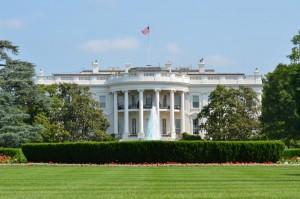 O presidente americano estava na Casa Branca