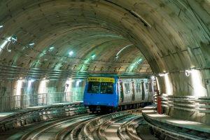 metrô linha 4 teste
